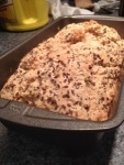 Flat Christmas beer bread (really good, actually).